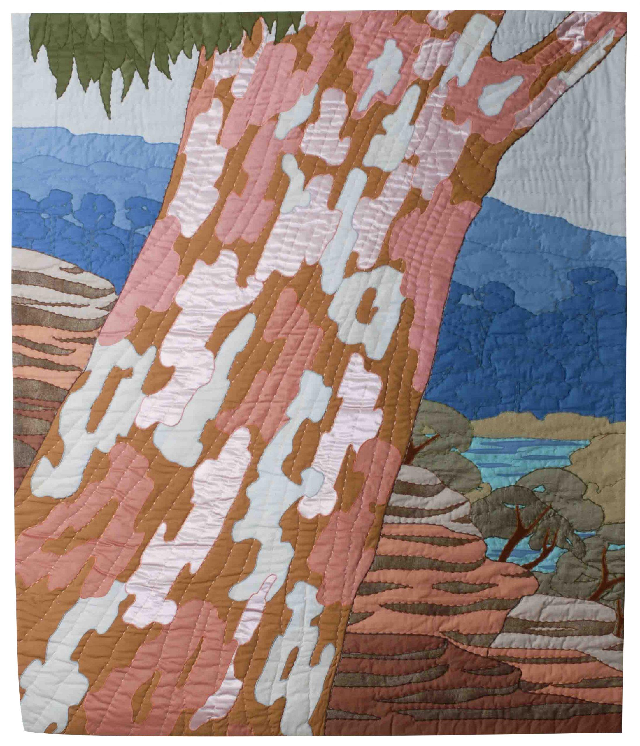 Sydney Red Gum, Bobbin Head (1990) 162cm H x 135cm W