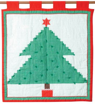 Christmas Tree (1984) 94cm H x 87cm W