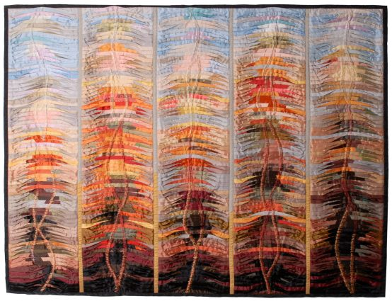 Days of Fire (2004) 126cm H x 163cm W
